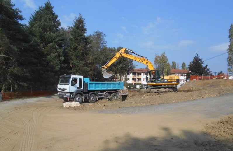 Entreprise pour travaux de terrassement et d molition lyon for Travaux de terrassement prix